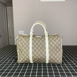 Gucci GG Logo Supreme Boston bag Satchel